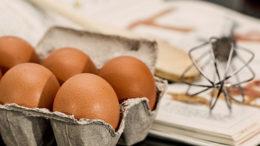 ingredienten bakken taarten eieren garde kookboek