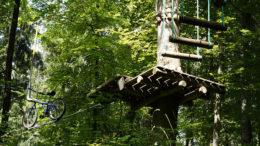 klimmen-hout-platform-touwen-bos